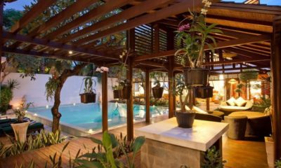 Villa Casis Pool Side Seating Area, Sanur | 6 Bedroom Villas Bali