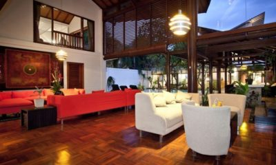 Villa Casis Open Plan Living Area, Sanur | 6 Bedroom Villas Bali