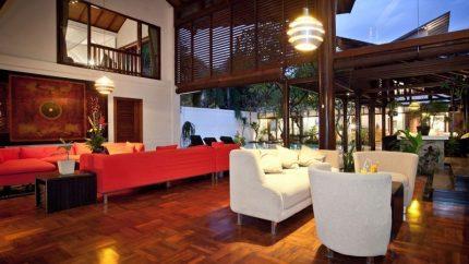 Villa Casis Open Plan Living Area, Sanur | 6 Bedroom Villas Bali