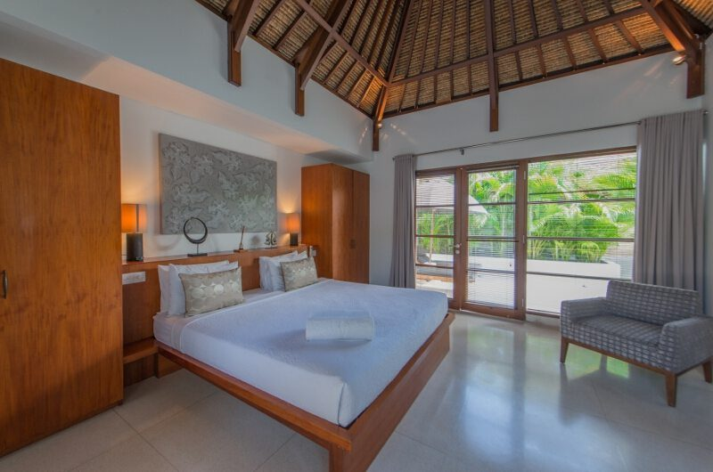 Villa Chocolat Bedroom with Garden View, Seminyak | 6 Bedroom Villas Bali