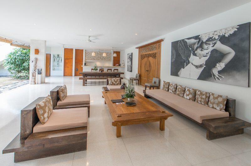 Villa Chocolat Living Area, Seminyak   6 Bedroom Villas Bali
