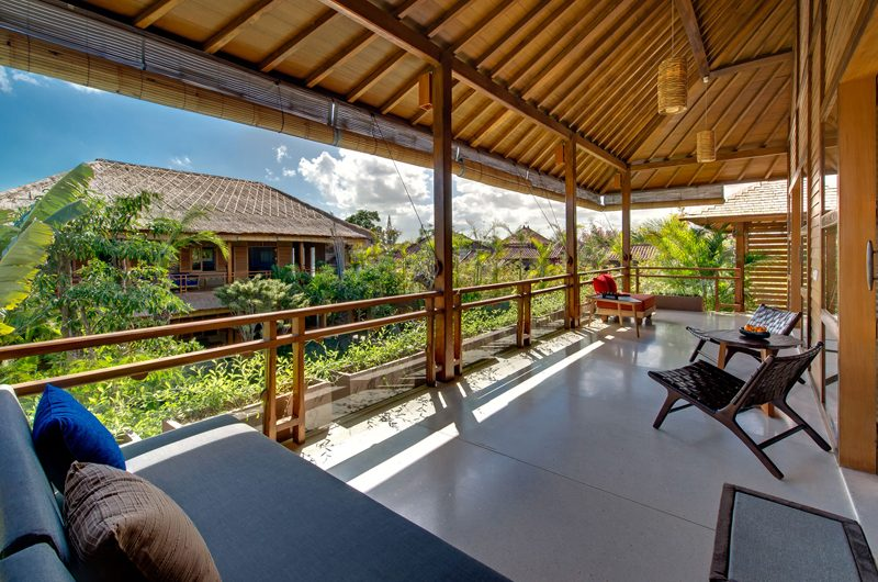 Villa Kinara Balcony with Sofa, Seminyak | 6 Bedroom Villas Bali
