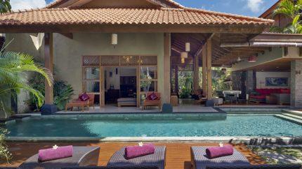 Villa Kinaree Estate Sun Loungers, Seminyak | 6 Bedroom Villas Bali