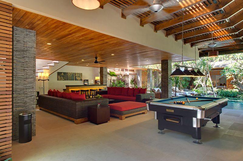 Villa Kinaree Estate Living Area with Pool View, Seminyak | 6 Bedroom Villas Bali