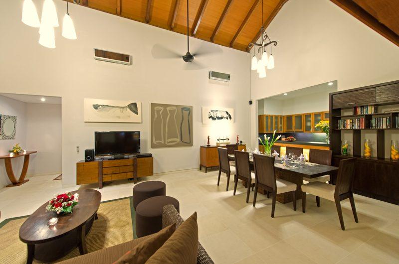 Villa Kinaree Estate Living and Dining Area, Seminyak | 6 Bedroom Villas Bali