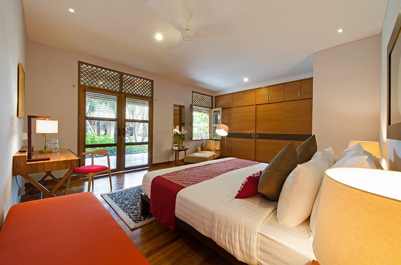 Villa Kinaree Estate Bedroom with Garden View, Seminyak | 6 Bedroom Villas Bali