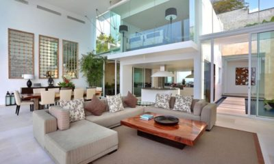 Villa Latitude Bali Living and Dining Area, Uluwatu | 6 Bedroom Villas Bali