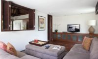 Villa Lilibel Lounge Area with TV, Seminyak | 6 Bedroom Villas Bali
