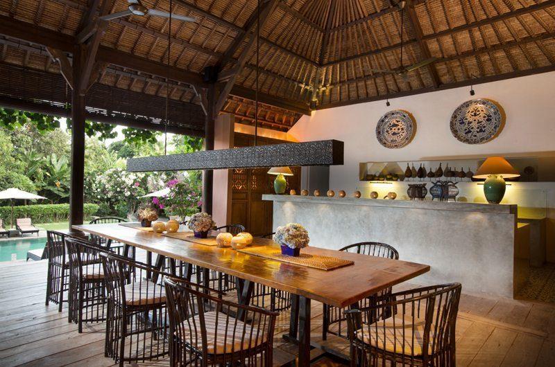 Villa Mamoune Dining Area, Umalas | 6 Bedroom Villas Bali