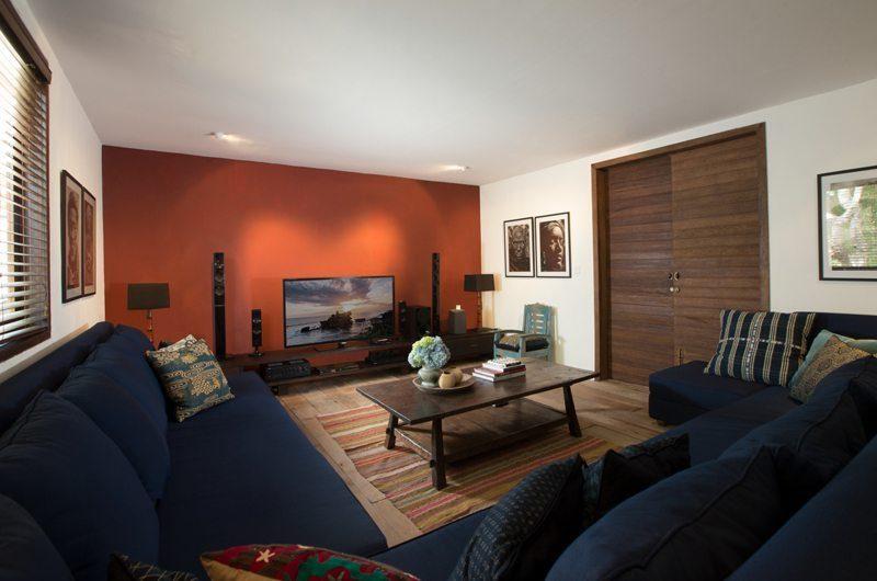 Villa Mamoune Lounge Area with TV, Umalas | 6 Bedroom Villas Bali