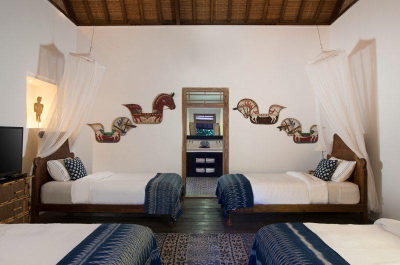 Villa Mamoune Four Single Beds, Umalas | 6 Bedroom Villas Bali