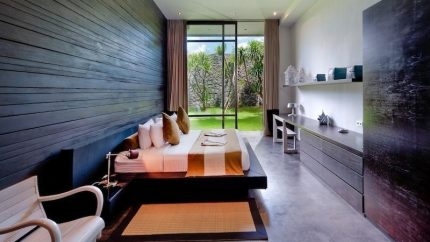Villa Mana Bedroom with Seating Area, Canggu | 6 Bedroom Villas Bali