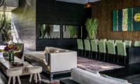 Villa Mana Indoor Living and Dining Area, Canggu   6 Bedroom Villas Bali