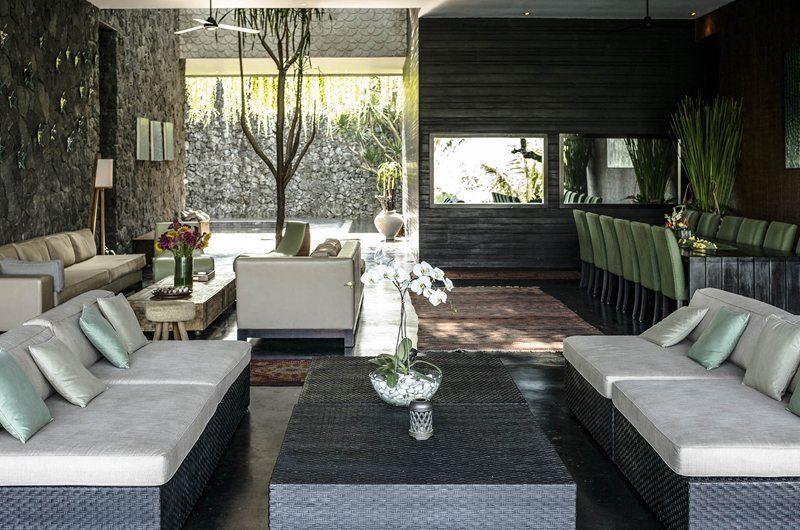 Villa Mana Living and Dining Area, Canggu   6 Bedroom Villas Bali