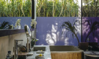 Villa Mana Bathroom with Mirror, Canggu   6 Bedroom Villas Bali