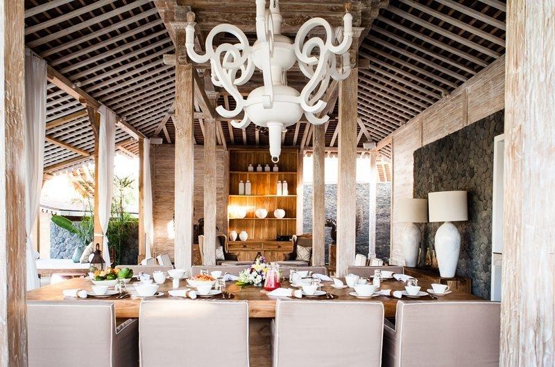 Villa Mannao Dining Area, Kerobokan | 6 Bedroom Villas Bali