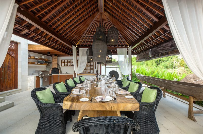 Villa Naty Kitchen and Dining Area, Umalas | 6 Bedroom Villas Bali