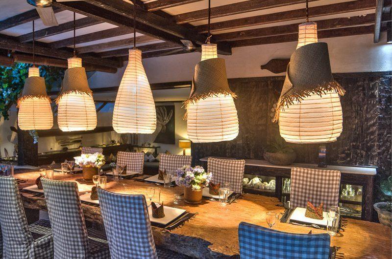 Villa Phinisi Dining Area, Seminyak | 6 Bedroom Villas Bali