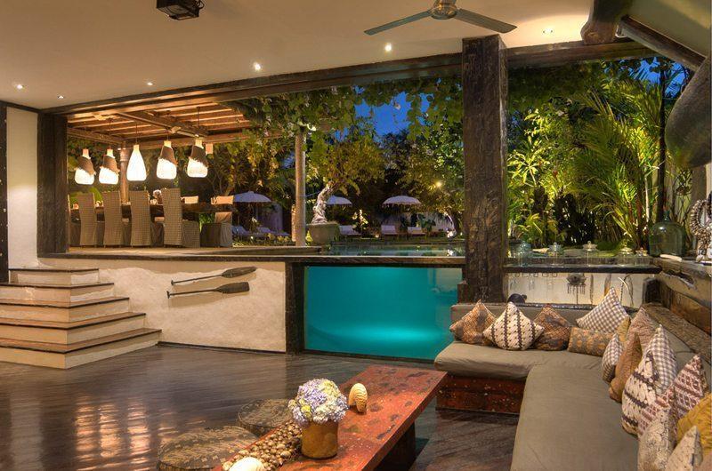 Villa Phinisi Living Room, Seminyak | 6 Bedroom Villas Bali