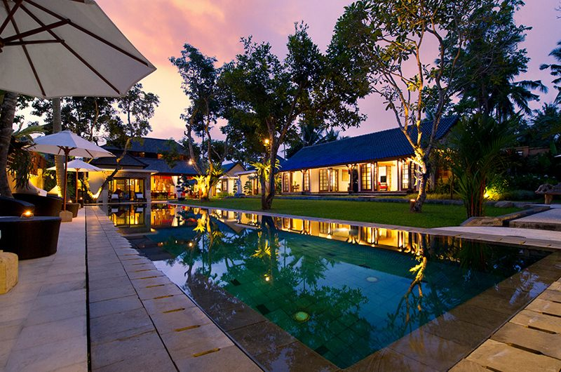 Villa San Night View, Ubud | 6 Bedroom Villas Bali