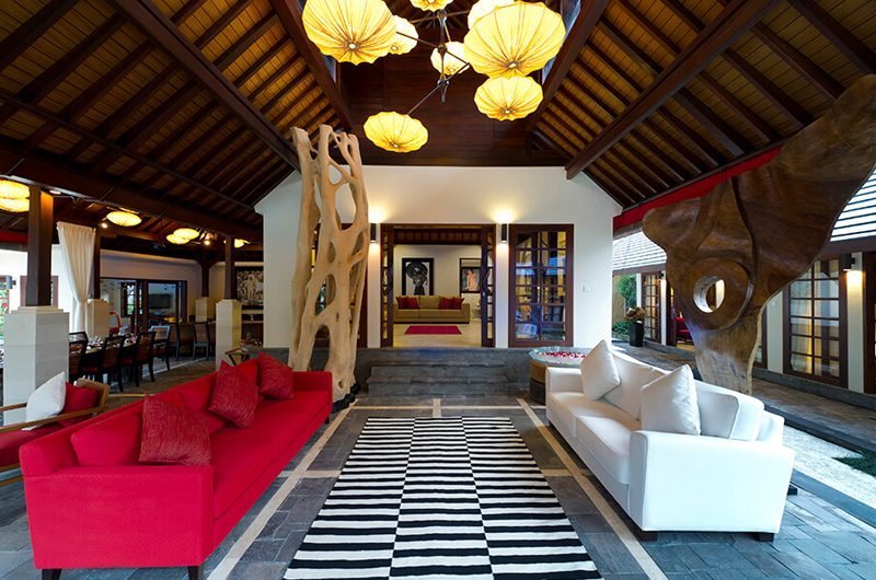 Villa San Outdoor Lounge, Ubud | 6 Bedroom Villas Bali