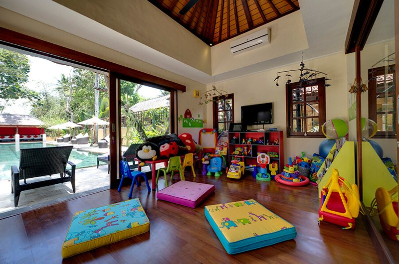 Villa San Kids Play Area, Ubud | 6 Bedroom Villas Bali