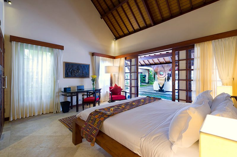 Villa San King Size Bed with Garden View, Ubud | 6 Bedroom Villas Bali