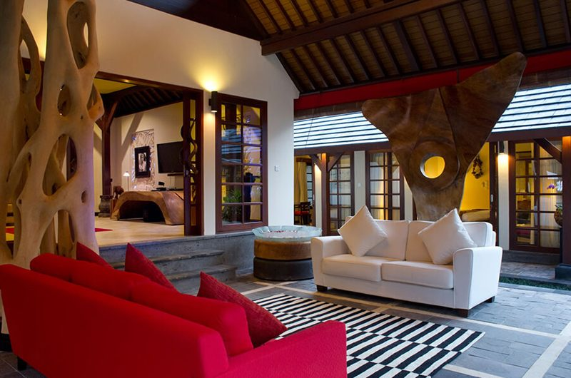 Villa San Lounge Area, Ubud | 6 Bedroom Villas Bali