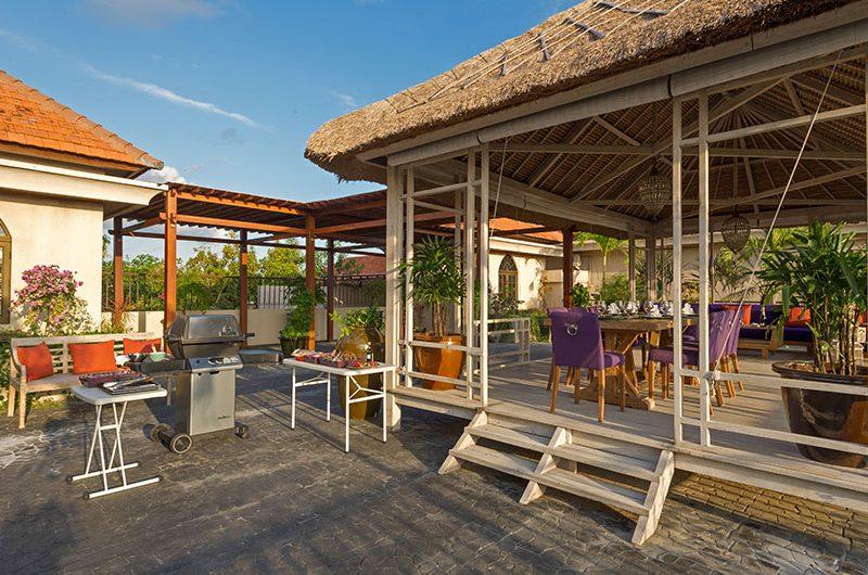 Villa Sayang D'Amour Outdoor Area with Barbeque, Seminyak   6 Bedroom Villas Bali