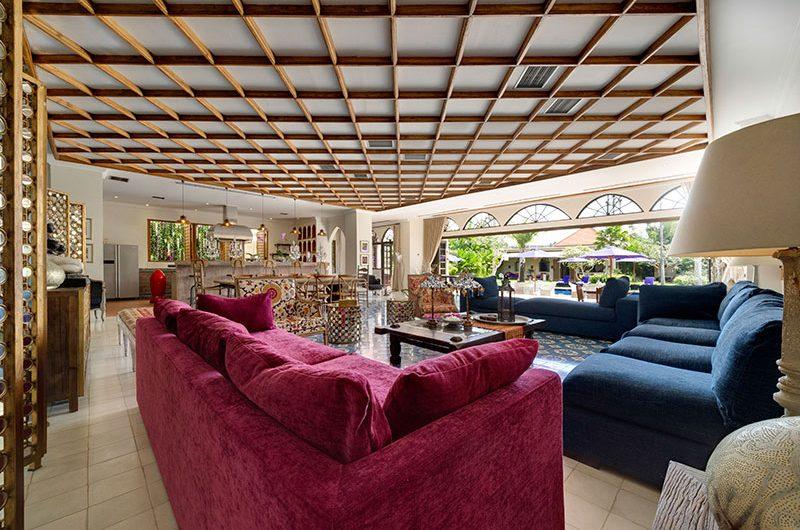 Villa Sayang D'Amour Living Area, Seminyak   6 Bedroom Villas Bali