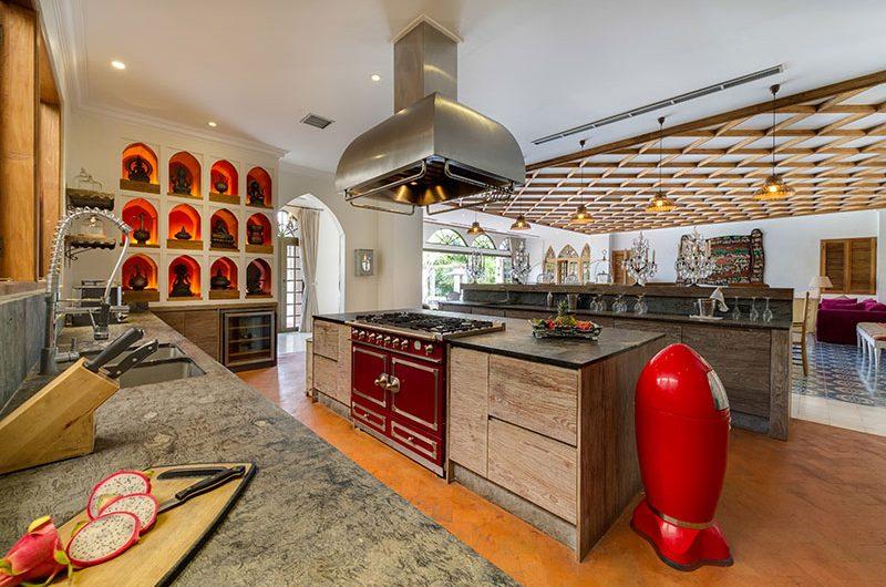 Villa Sayang D'Amour Kitchen Area, Seminyak   6 Bedroom Villas Bali
