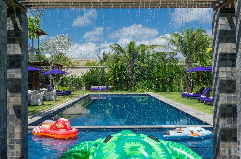 Villa Sayang D'Amour Swimming Pool with Water Feature, Seminyak   6 Bedroom Villas Bali