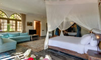 Villa Sayang D'Amour Bedroom with TV, Seminyak | 6 Bedroom Villas Bali