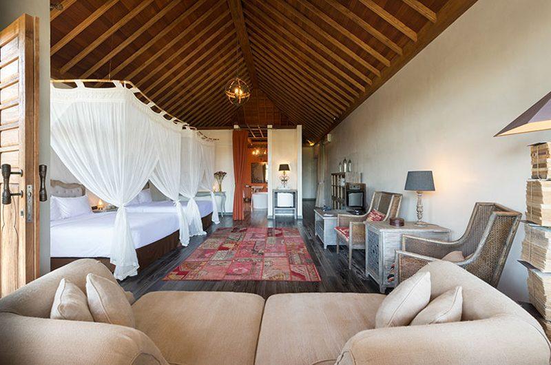 Villa Sayang D'Amour Bedroom with Double Beds, Seminyak   6 Bedroom Villas Bali