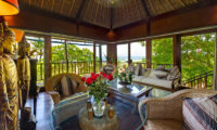 Villa Sungai Tinggi Lounge Area with Sea View, Pererenan | 6 Bedroom Villas Bali
