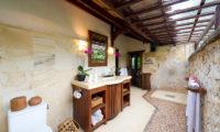 Villa Sungai Tinggi Semi Open Bathroom, Pererenan | 6 Bedroom Villas Bali
