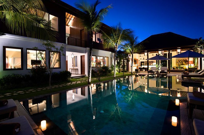Villa Tangram Night View, Seminyak | 6 Bedroom Villas Bali