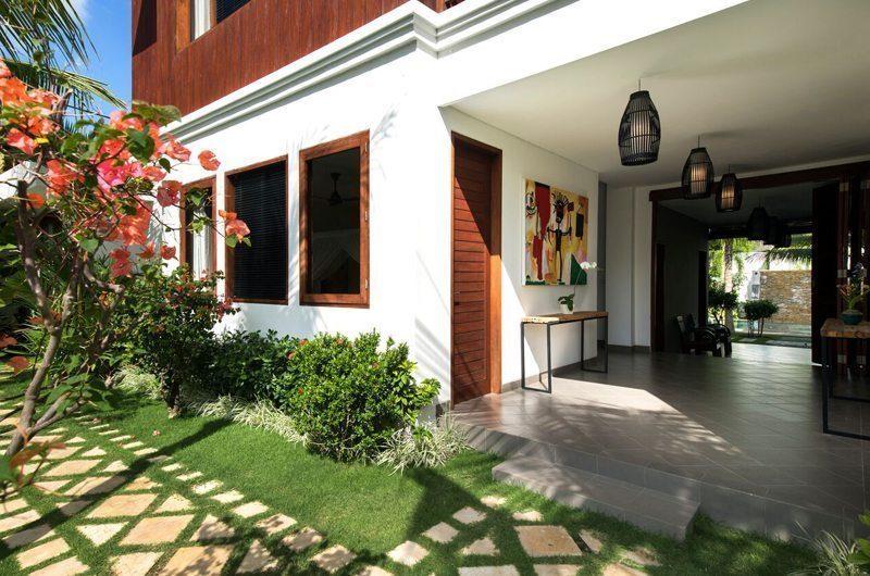 Villa Tangram Entrance, Seminyak | 6 Bedroom Villas Bali