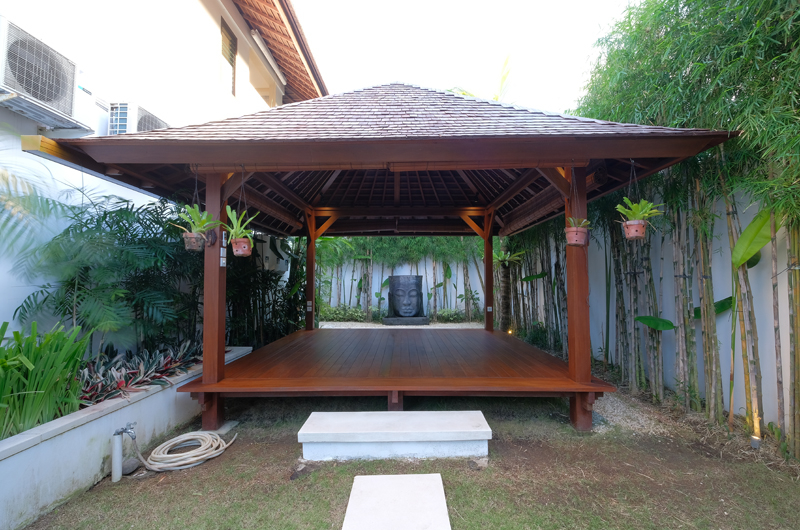 Villa Tjitrap Outdoor Seating Area, Seminyak | 6 Bedroom Villas Bali