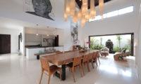Villa Tjitrap Kitchen and Dining Area, Seminyak   6 Bedroom Villas Bali