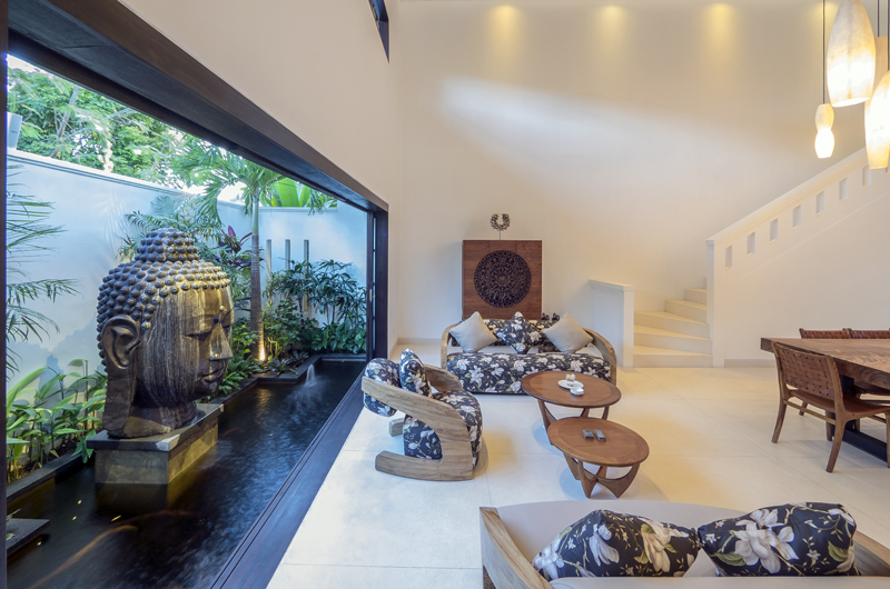 Villa Tjitrap Living and Dining Area, Seminyak | 6 Bedroom Villas Bali