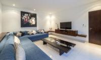 Villa Tjitrap Lounge Area with TV, Seminyak   6 Bedroom Villas Bali