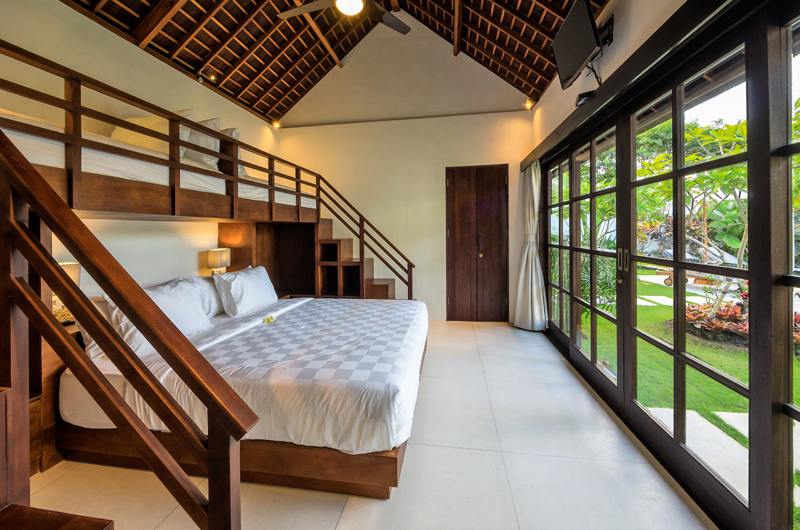 Villa Tjitrap Bedroom with Garden View, Seminyak | 6 Bedroom Villas Bali