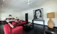 Villa Tjitrap Bedroom with Sofa, Seminyak   6 Bedroom Villas Bali