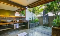 Villa Yoga Semi Open Bathroom, Seminyak | 6 Bedroom Villas Bali