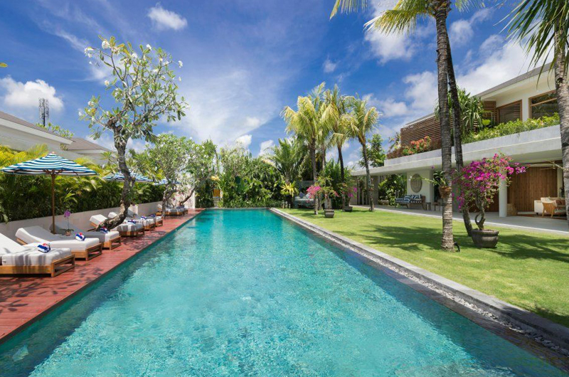 Villa Zambala Swimming Pool, Canggu | 6 Bedroom Villas Bali