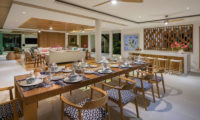 Villa Zambala Living and Dining Area, Canggu | 6 Bedroom Villas Bali