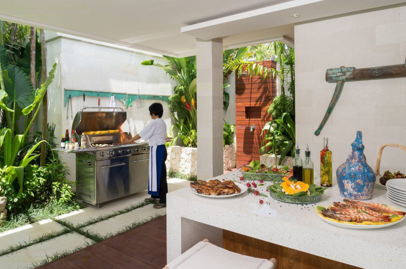 Villa Zambala Outdoor Barbeque, Canggu | 6 Bedroom Villas Bali