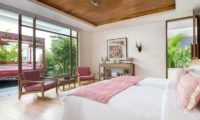 Villa Zambala Twin Bedroom with Garden View, Canggu | 6 Bedroom Villas Bali